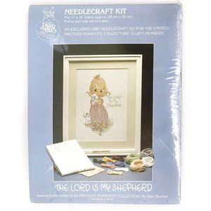 Precious Moments 1985 The Lord is My Shepherd Kit